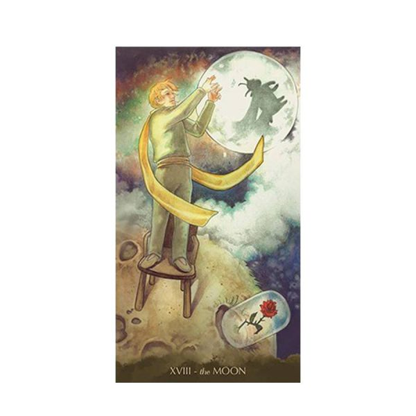 Tarot of the Little Prince - Mėnulis