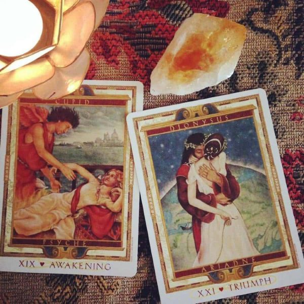 The Lover's Path tarot kortos
