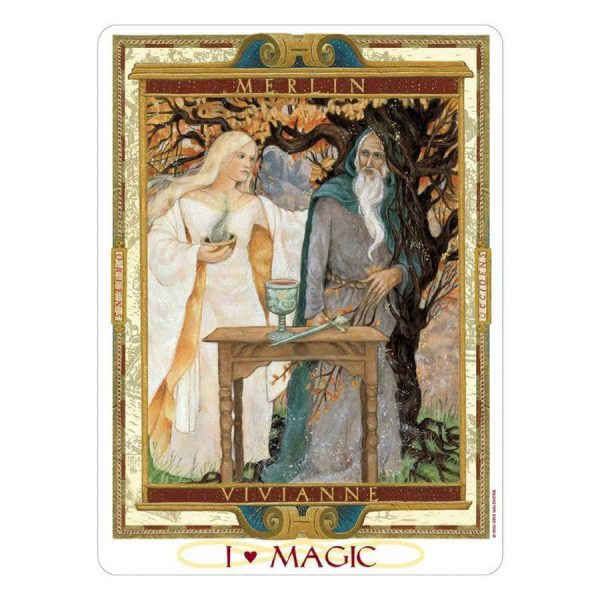 The Lover's Path tarot - Magic