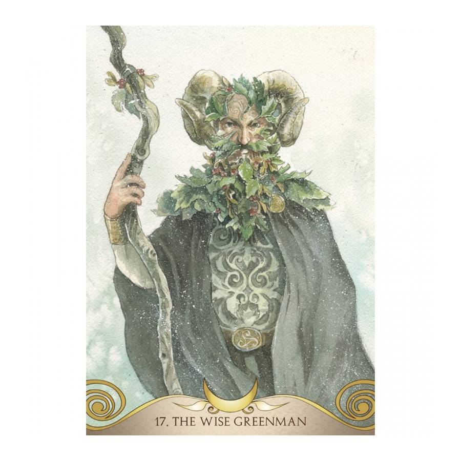 The Goddess Temple oracle Wise Greenman